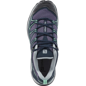 Salomon X Ultra Prime Chaussures de randonnée Femme, Artist Grey-X/Deep Blue/Lucite Green
